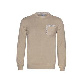Beige extra fine wool sweater