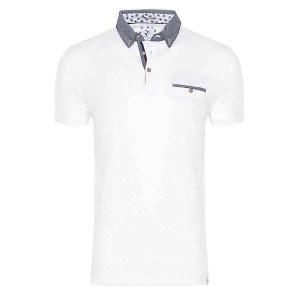 White plain polo.
