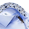 Blue 2 PLY cotton shirt.