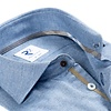 Light blue flanel cotton shirt.