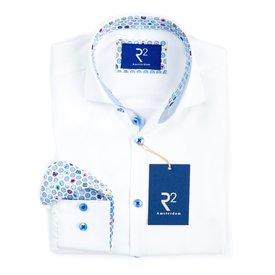 Kids white cotton shirt.