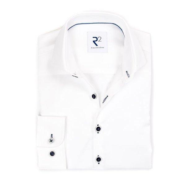 R2 Kids wit katoenen overhemd.