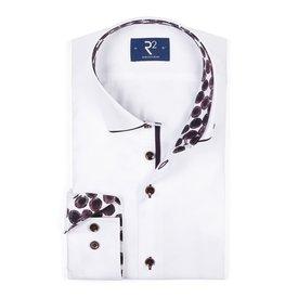 Weißes Baumwollhemd