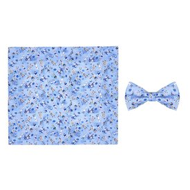 R2 Kids sports print cotton bow tie.