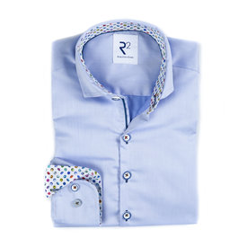 R2 Kids light blue cotton shirt.