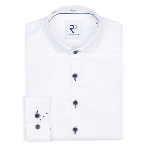 Kids white Phatfour cotton shirt.