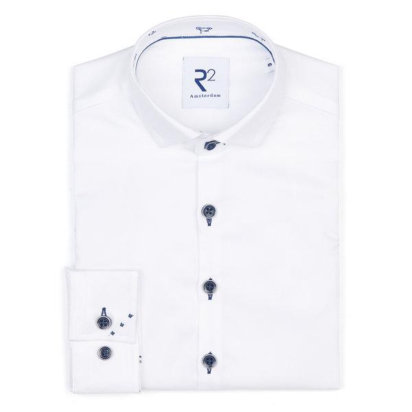 R2 Kids white Phatfour cotton shirt.