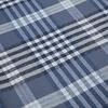 Blue checkered cotton overshirt.