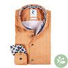 Orange 2 PLY organic cotton shirt.