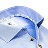 Blue cotton shirt.