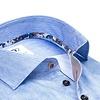 Licht blauw 2 PLY organic cotton overhemd.