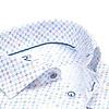 Weißes Mini-Dessin Organic Baumwollhemd.