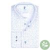 White mini dessin organic cotton shirt.
