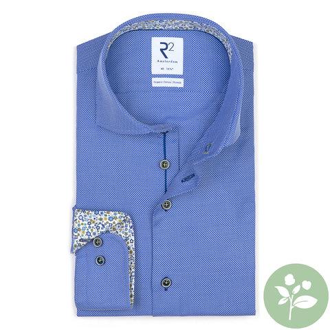 Licht blauw organic cotton overhemd.