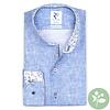 Lichtblauw 2 PLY Phatfour organic cotton overhemd.