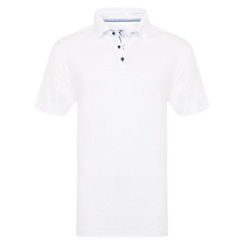 White cotton polo.