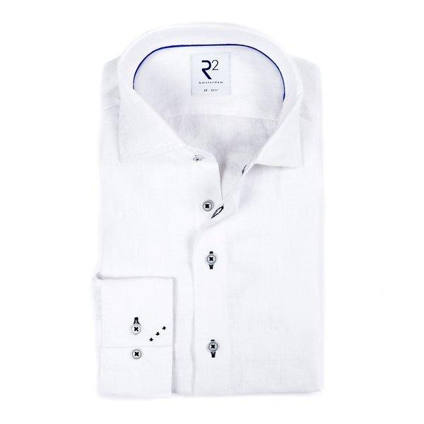 R2 Weißes Leinenhemd.