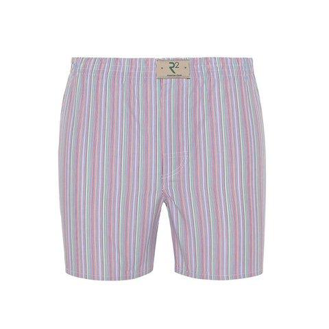 Multicolour striped cotton boxershorts.