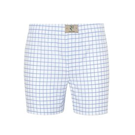 R2 White checkered cotton boxershorts.