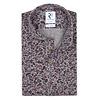 Mehrfarbiges Single-Jersey-Strickshirt aus Baumwolle.
