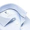 Light blue piquet knitted cotton shirt.
