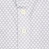 Graues Piquet-Strickhemd aus Baumwolle.