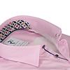 Pink 2 PLY oxford organic cotton shirt.