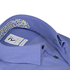 Blaues Organic Baumwollhemd.