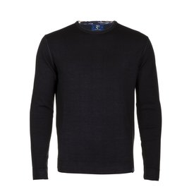 R2 Navy blue extra fine wool  pullover.