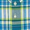 Multicolour geruit linnen overhemd.