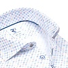 Extra lange mouwen. Multicolour mini dessin organic katoenen overhemd.