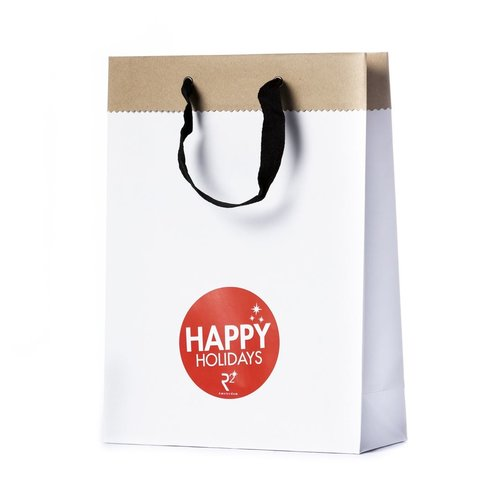 Happy Holidays cadeauverpakking