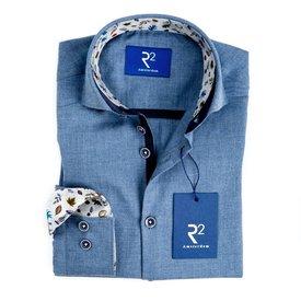 R2 Kids blue flanel shirt.