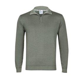 R2 Green wool sweater.