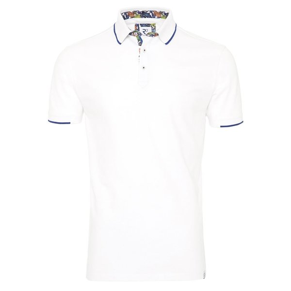 R2 Witte polo.