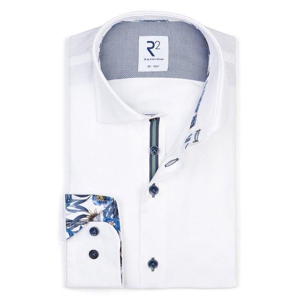 R2 Wit katoenen overhemd.