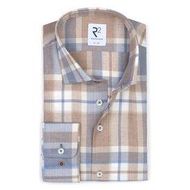 R2 Checkered flanel cotton shirt.