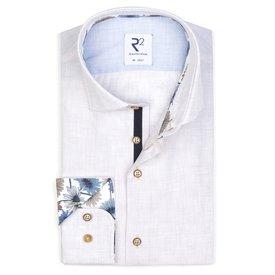 R2 Beige cotton shirt.