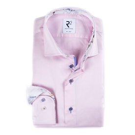 R2 Pink cotton shirt.