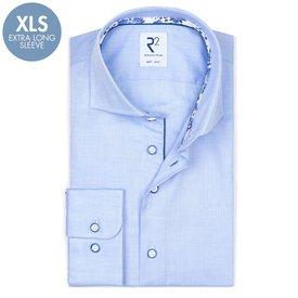 R2 Extra Long Sleeves. Light blue oxford cotton shirt