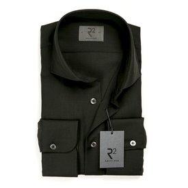 R2 Black 100% wool shirt.