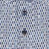 Weiß Stuhl Druck Dobby Stretch Organic Baumwollhemd.