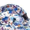 Wit verfspetter print dobby katoenen overhemd