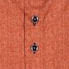 Oranje herringbone 2-PLY katoen flanel overhemd