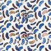 Wit stoelenprint dobby organic cotton overhemd