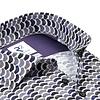 Wit dobby stoelenprint organic cotton-stretch overhemd