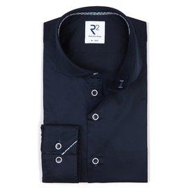 R2 Navy blue cotton shirt