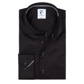 R2 Black cotton shirt