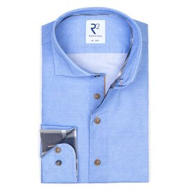 R2 Light blue 2 PLY cotton shirt