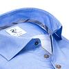 Lichtblauw 2 PLY katoenen overhemd